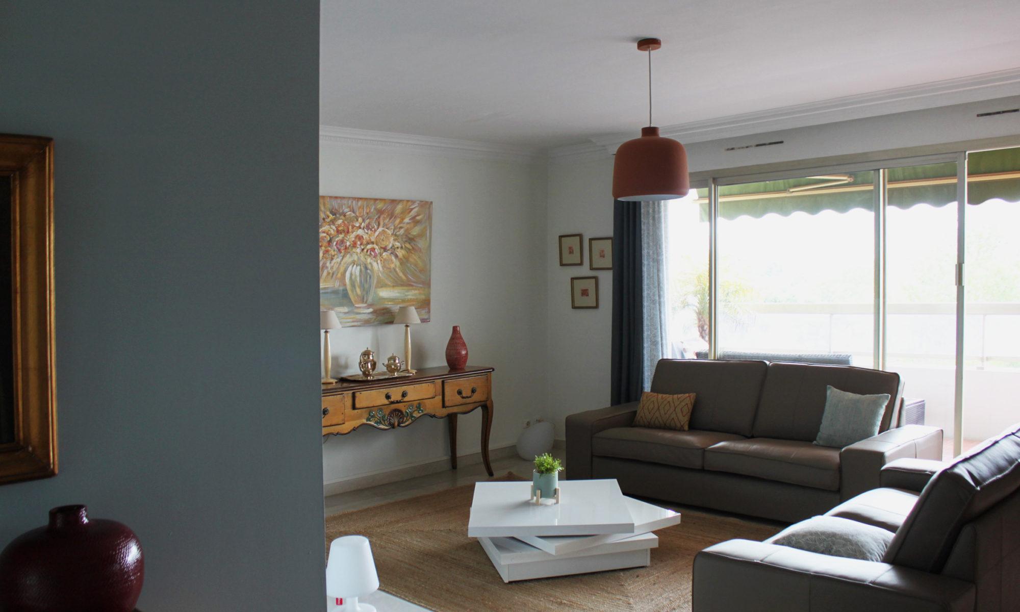 Conseil Déco - Salon cosy blue - Clara Orsat - Architecture Intérieure et Décoration intérieure ...