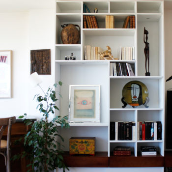 Projet P -  Création d'un meuble TV bibliothèque