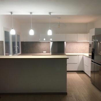Nouvelle cuisine : une maison métamorphosée