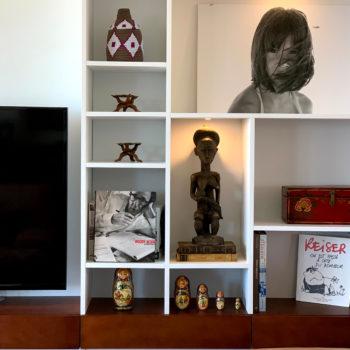 PROJET P. -  Création d'un meuble TV bibliothèque