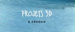 PROJET 3D ET CROQUIS