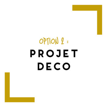 option 2 projet deco